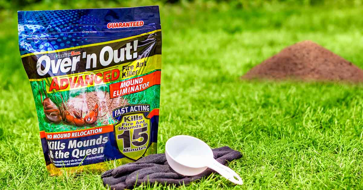 Over N Out Advanced Fire Ant Mound Eliminator