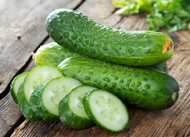 Vining cucumbers require some space, unless you grow them in containers. Add a trellis, and your crop stays healthier and more productive.