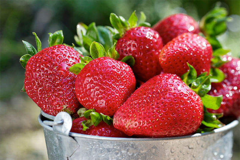 Strawberries are flavorful edibles that come back year after year.